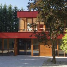 Gebäude der Montessori-FOS