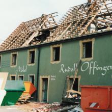 das Gebäude in Wertingen war früher ein Möbelhaus