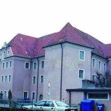 1. Schulgebäude in Lauingen